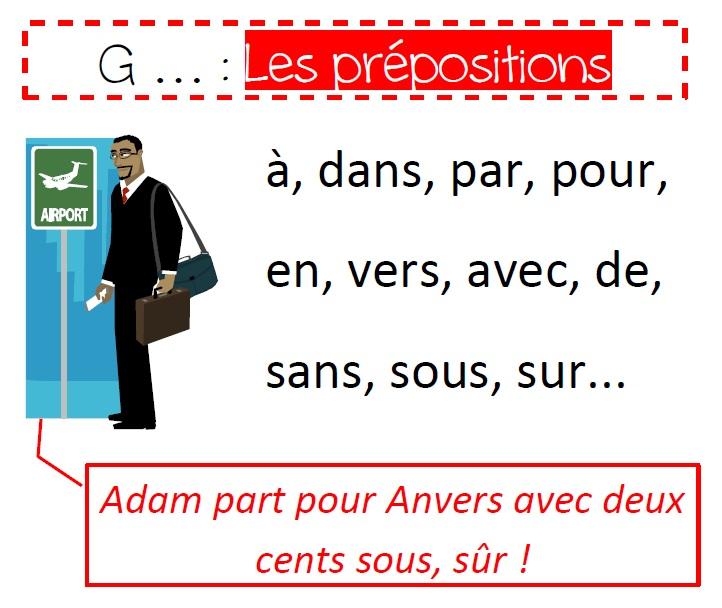 préposition