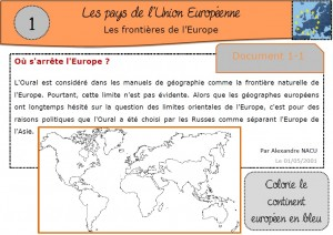 Carte De Leurope Pour Ce2.Europe Ma Maitresse De Cm1 Cm2