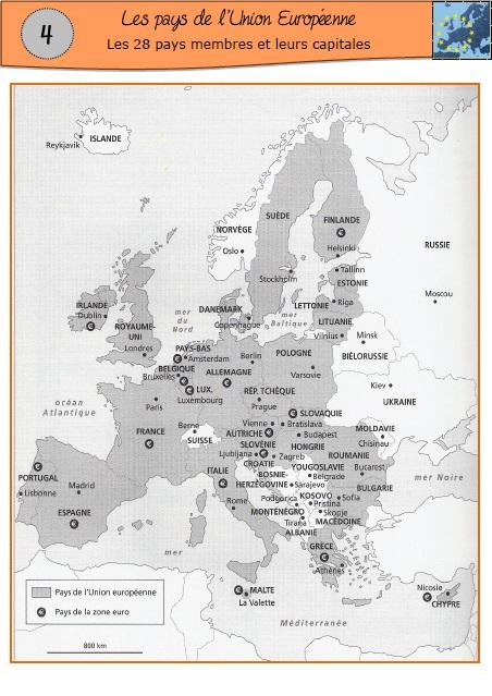 Carte De Leurope A Trou.Europe Ma Maitresse De Cm1 Cm2