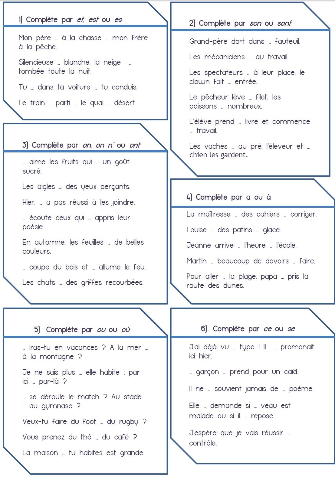 orthographe | MA MAITRESSE DE CM1-CM2